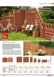 Aktueller BAUHAUS Prospekt, Gartengestaltung/Metallzaun, Seite 49