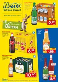 Aktueller Netto Getränke-Markt Prospekt, Spritzige Erfrischung!, Seite 1