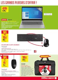 Catalogue Office DEPOT en cours, On va finir par croire au père noël !, Page 5