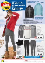 Aktueller Lidl Prospekt, Perfekt gekleidet für den Winter, Seite 2