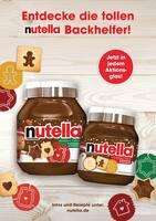 Aktueller Nutella Prospekt, Entdecke die tollen nutella Backhelfer!, Seite 1