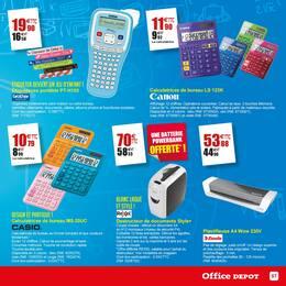 Catalogue Office DEPOT en cours, Office Depot, l'expert de la rentrée ! Et profitez du service de préparation de liste scolaire en magasin gratuitement. , Page 57