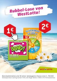 Westlotto, RUBBEL-LOSE VON WESTLOTTO! für Duisburg