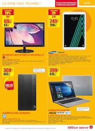 Catalogue Office DEPOT en cours, Promos mobilier, fournitures ! Soyez bien au bureau !, Page 11