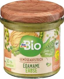 Gemüseaufstrich Edamame Erbse Angebot: Im aktuellen Prospekt bei dm-drogerie markt in Mannheim