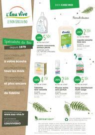 Catalogue L'Eau Vive en cours, Bio, bon et gourmand !, Page 12
