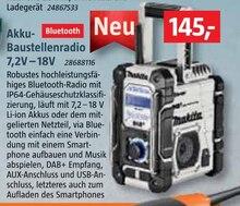 Radio von Makita im aktuellen BAUHAUS Prospekt für 145€