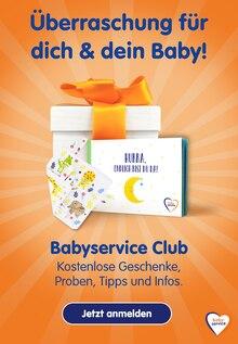 Babyservice–Club Prospekt Überraschung für dich & dein Baby!