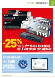 Catalogue Top Office en cours, Classer pro, Page 25