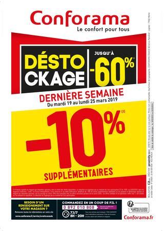 Catalogue Conforama en cours, Déstockage jusqu'à -60%, Page 2