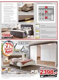 Aktueller Möbel Inhofer Prospekt, Mondo, Seite 11