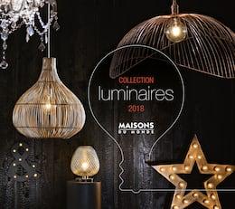 Catalogue Maisons du Monde en cours, Collection luminaires - 2018, Page 1