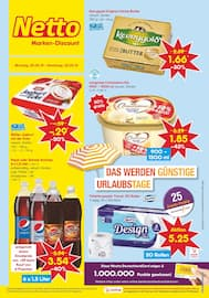 Aktueller Netto Marken-Discount Prospekt, DAS WERDEN GÜNSTIGE URLAUBSTAGE, Seite 1