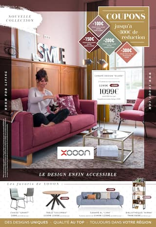 Catalogue Xooon en cours, Nouvelle Collection, Page 1