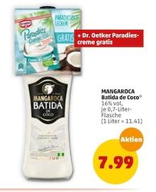 Alkoholische Getraenke von MANGAROCA Batida de Coco im aktuellen Penny-Markt Prospekt für 7.99€