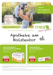 mea - meine apotheke,  UNSERE MAI-ANGEBOTE  für Hamburg