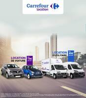 Catalogue Carrefour Location en cours, Location de voitures et d'utilitaires, Page 1