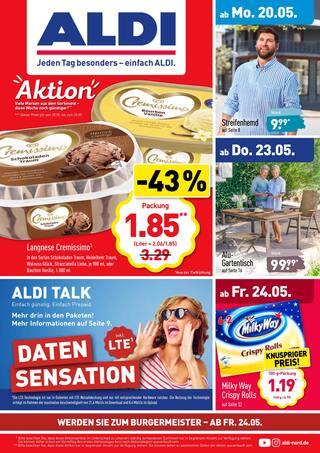 Aktueller ALDI Nord Prospekt, ALDI. Jeden Tag besonders - einfach ALDI., Seite 1