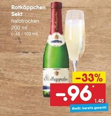 Sekt von Rotkäppchen im aktuellen Netto Marken-Discount Prospekt für 0.96€