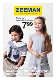 Catalogue Zeeman en cours, Cette semaine : plein de nouveaux vêtements pour enfant, pour toutes les occasions., Page 1