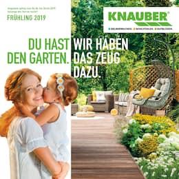 Aktueller Knauber Prospekt, DU HAST DEN GARTEN. WIR HABEN DAS ZEUG DAZU., Seite 1