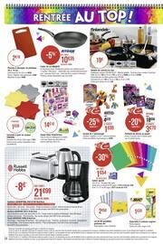 Catalogue Casino Supermarchés en cours, Direction la rentrée… Par ici les promos !, Page 34