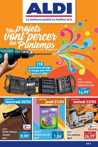 Catalogue Aldi en cours, Vos projets vont percer au Printemps, Page 1