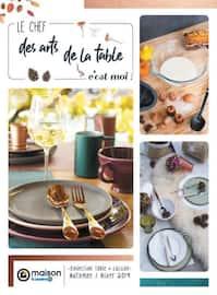 Catalogue E.Leclerc en cours, Le chef des arts de la table, c'est moi !, Page 1