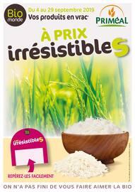 Catalogue Biomonde en cours, Vos produits en vrac à prix irrésistibles, Page 1