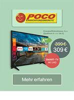 Aktueller POCO Prospekt, LED-Fernseher, Seite 1
