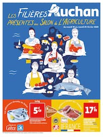 Catalogue Auchan en cours, Les filières Auchan présentes au Salon de l'Agriculture, Page 1