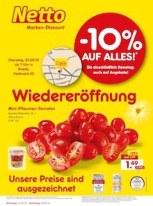 Netto Marken-Discount, WIEDERERÖFFNUNG - 10% AUF ALLES für Bocholt