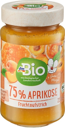Fruchtaufstrich Aprikose Angebot: Im aktuellen Prospekt bei dm-drogerie markt in Wuppertal