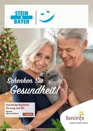 Aktueller Sanitätshaus Stein & Bayer GmbH Prospekt, Schenken Sie Gesundheit!, Seite 1