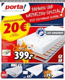 porta Möbel - Rahmen- und Matratzen-Spezial!
