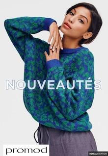 """Promod Catalogue """"Nouveautés """", 11 pages, Méricourt,  21/10/2021 - 22/11/2021"""