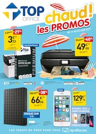 Catalogue Top Office en cours, Chaud ! les promos, Page 1
