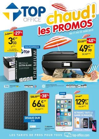 Catalogue Top Office en cours, Chaud ! les promos, Page 1