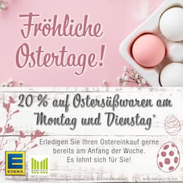 Aktueller EDEKA Frischemarkt Prospekt, Fröhliche Ostertage!, Seite 1