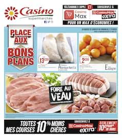 Catalogue Casino Supermarchés en cours, Place aux bons plans, Page 1