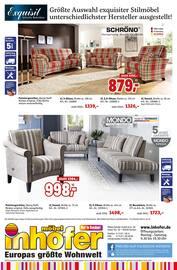 Aktueller Möbel Inhofer Prospekt, Marken Spezial, Seite 12