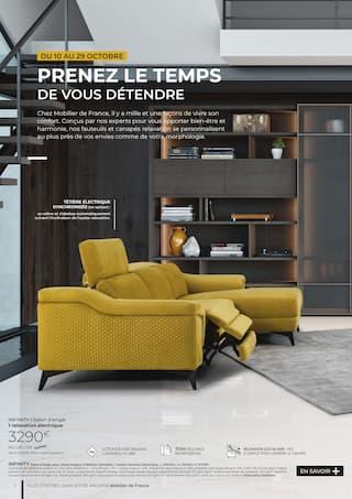 Catalogue Mobilier de France en cours, Les instants relaxation, Page 2