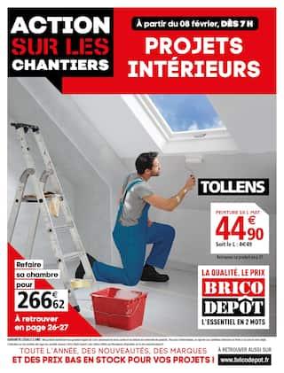 Catalogue Brico Dépôt en cours, Action sur les chantiers, Page 1