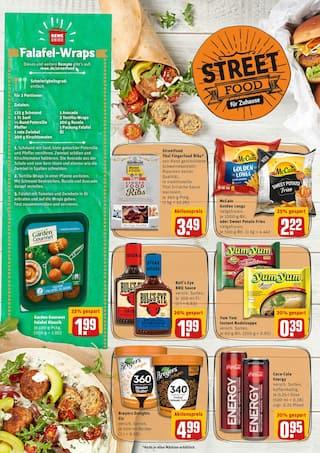 Cola im REWE Prospekt Street Food für Zuhause auf S. 1