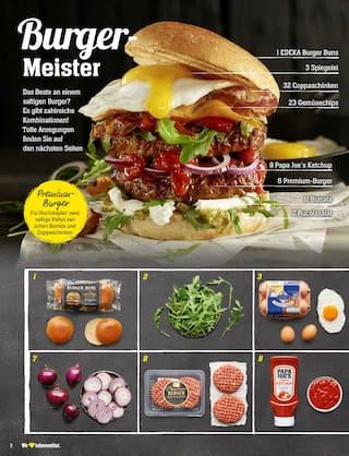 Aktueller EDEKA Prospekt, Bau Dir deinen Burger!, Seite 2