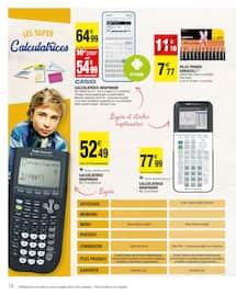 Catalogue Carrefour Market en cours, Le meilleur de la rentrée moins chère, Page 18