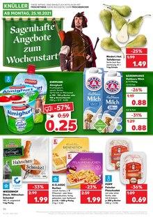 Kaufland Prospekt für Werdau, Sachs: KNÜLLER, 42 Seiten, 24.10.2021 - 27.10.2021