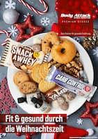 Aktueller Body Attack Prospekt, Fit & gesund durch die Weihnachtszeit, Seite 1