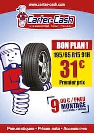 Catalogue Carter-Cash en cours, Bon plan !, Page 1