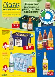 Aktueller Netto Getränke-Markt Prospekt, Mehrweg für die Umwelt, Seite 1